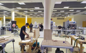 В «Экспоцентре» состоялся первый чемпионат WoodworkingSkills